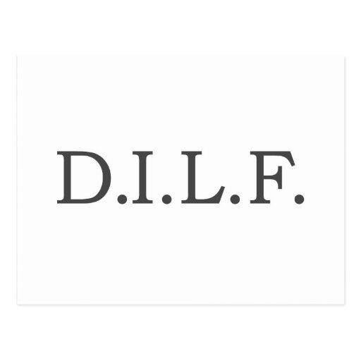 Daddy's Home D.I.L.F. Postcard