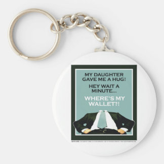 Daddy's Home Daughter 1 Key Chain