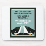 Daddy's Home Daughter 1 Mouse Pads