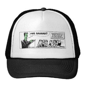 Daddy's Home Frankenstein Fire Safety Trucker Hat