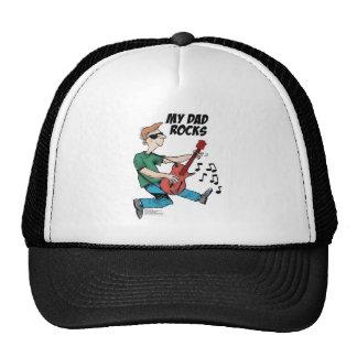 Daddy's Home My Dad Rocks Trucker Hat