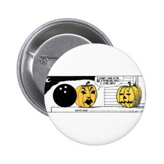 Daddy's Home Pumpkin Pinback Button