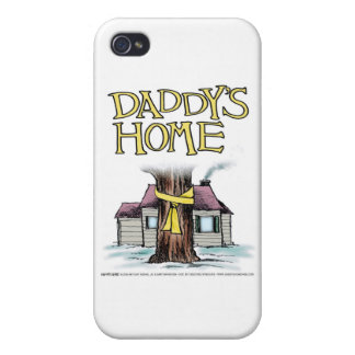 Daddy's Home Yellow Ribbon iPhone 4 Cover