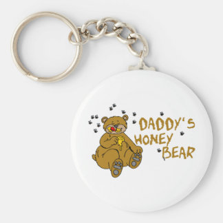 Daddy's Honey Bear Key Chain