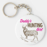 Daddy's Hunting Girl Key Chains