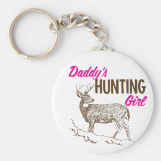 Daddy's Hunting Girl Keychain