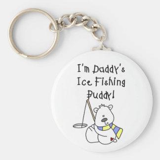 Daddy's Ice Fishing Buddy Keychains