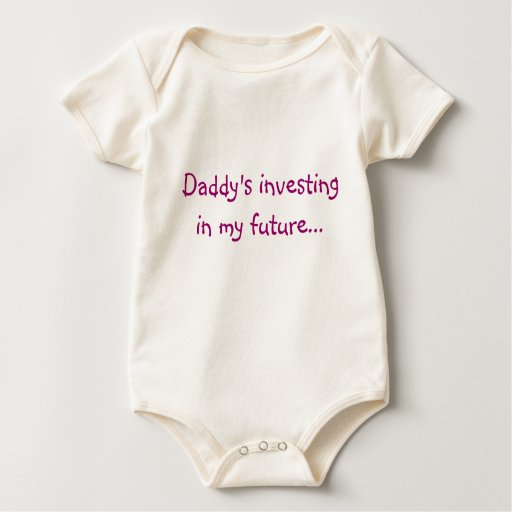 Daddy's investing in my future... romper