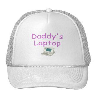 Daddy's Laptop (pink) Trucker Hat