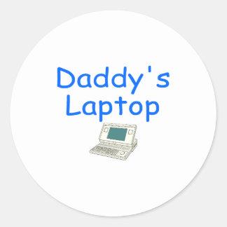 Daddy's Laptop Sticker
