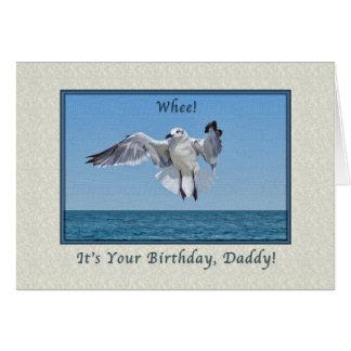 Daddy's Laughing Gull Bird Birthday Card