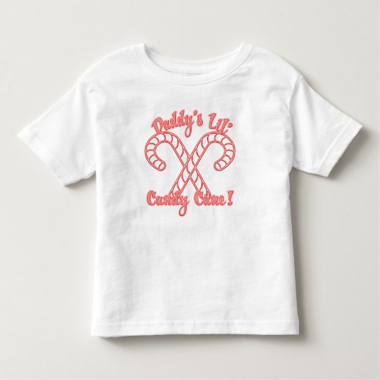 Daddy's Lil Candycane Toddler T-shirt