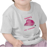DADDY'S LIL' COWGIRL T SHIRT