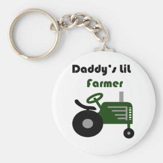 Daddy's Lil Farmer Keychain