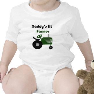 Daddy's Lil Farmer Bodysuits