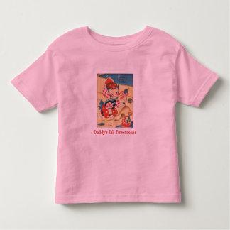 Daddy's Lil' Firecracker Toddler T-shirt