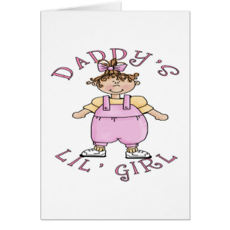 Daddy's Lil Girl Card