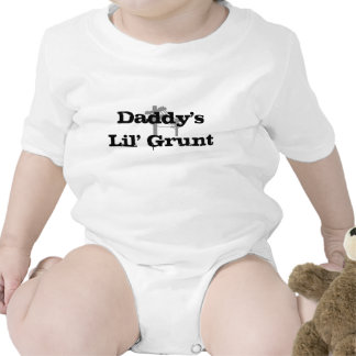 Daddy's Lil' Grunt-Basic White Creeper-BLACK