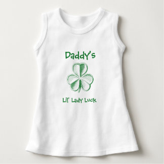 Daddy's Lil' Lady Luck / Your text Dress