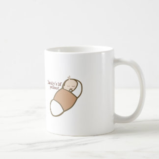 Daddy's Lil' Peanut Classic White Coffee Mug