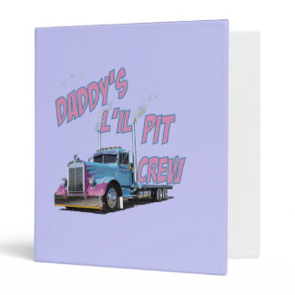 Daddy's L'il Pit Crew Binder