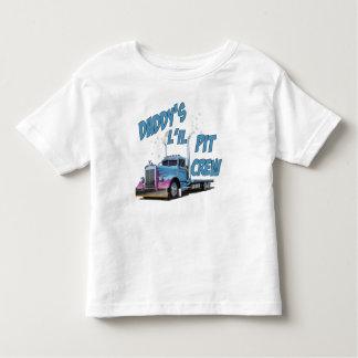 Daddy's L'il Pit Crew T Shirts