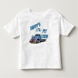Daddy's L'il Pit Crew Toddler T-shirt