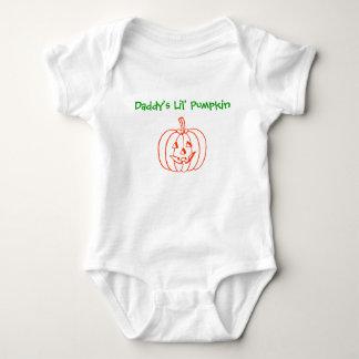 Daddy's Lil' Pumpkin-baby T Shirts