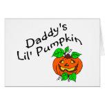 Daddys Lil Pumpkin Card