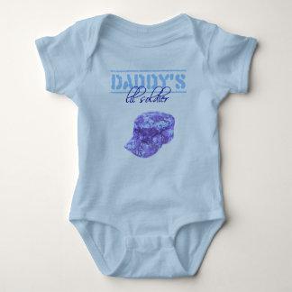 daddy's lil soldier boy baby bodysuit