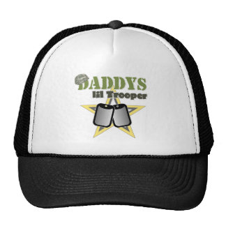 Daddys lil Trooper Mesh Hats