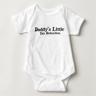 Daddy's Litte Tax Deduction Tee Shirts