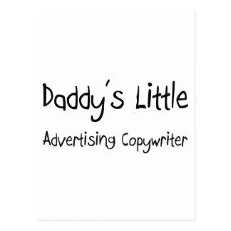Daddy's Little Advertising Copywriter Postcards
