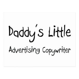Daddy's Little Advertising Copywriter Postcard