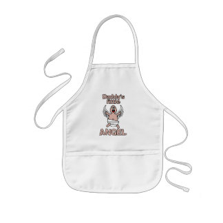 Daddy's Little Angel apron