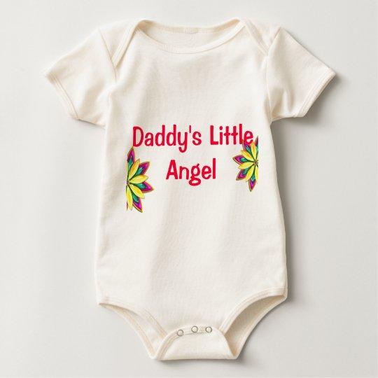 Daddy's little Angel Infant Organic Creeper