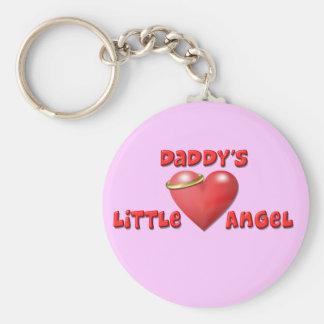 Daddy's Little Angel Keychain