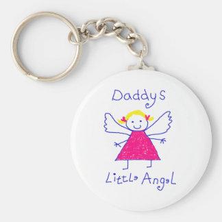 Daddy's Little Angel Key Chain