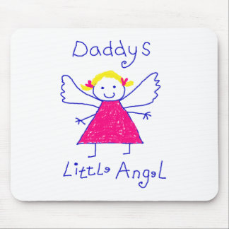 Daddy's Little Angel Mouse Pad