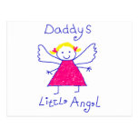 Daddy's Little Angel Post Cards