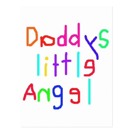 Daddy's little Angel Postcard