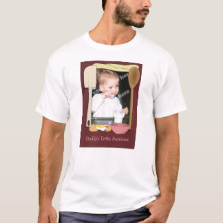 Daddy's Little Assistant Kitchen Shirt Template