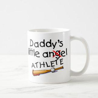 Daddy's Little Athlete Coffee Mug