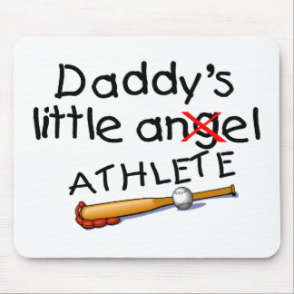 Daddys Little Athlete Mouse Pad