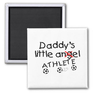 Daddys Little Athlete (Soccer) Magnets