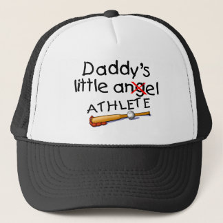 Daddys Little Athlete Trucker Hat