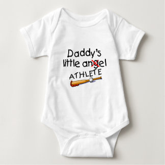 Daddy's Little Athlete Shirt
