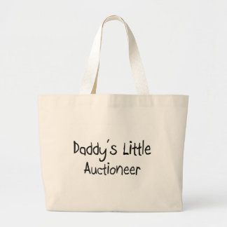 Daddy's Little Auctioneer Tote Bag
