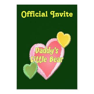 Daddy's Little Bear Card