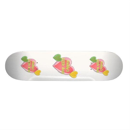 Daddy's Little Bear Skateboard Deck